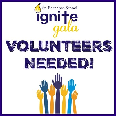 IGNITE gala- Volunteers needed