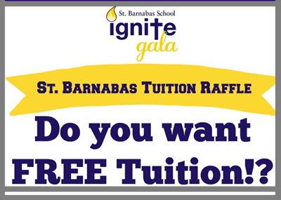 IGNITE gala Tuition Raffle